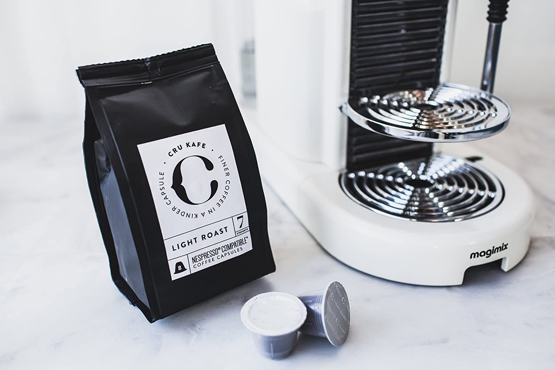 CRU Kafe Fairtrade Café Orgánico Capsulas Nespresso Compatibles - Tostado ligero (36 capsulas): Amazon.es: Alimentación y bebidas
