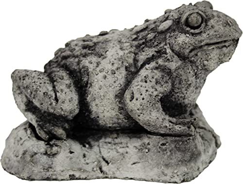 Toad Statue Frogs Home and Garden Statues Cement Figures