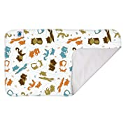 Planet Wise Waterproof Changing Diaper Pad, Fox Trot