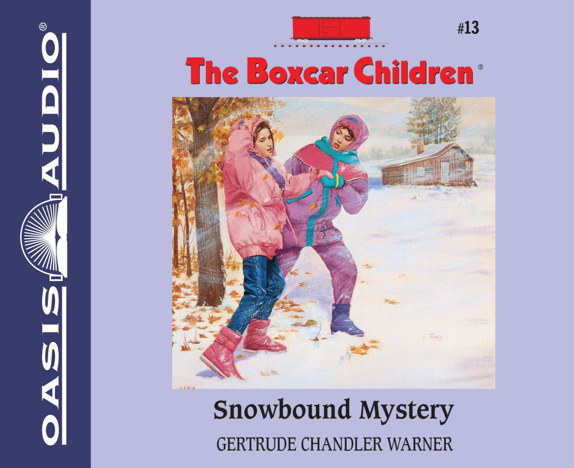 Snowbound Mystery (Library Edition) (The Boxcar Children Mysteries) by Oasis Audio (Image #1)