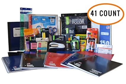 Ultimate Back To School Supply Pack Bundle - Pencils, Crayons, Trapper  Keepers, Binder a0df8547a8