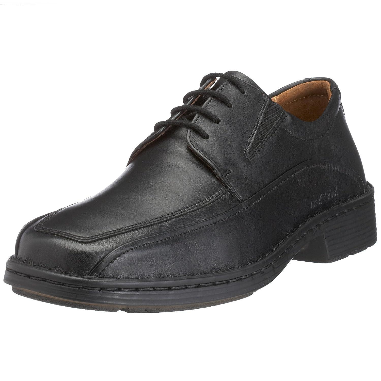 TALLA 46 EU X-Ancho. Josef Seibel Brian - Zapatos con Cordones para Hombre