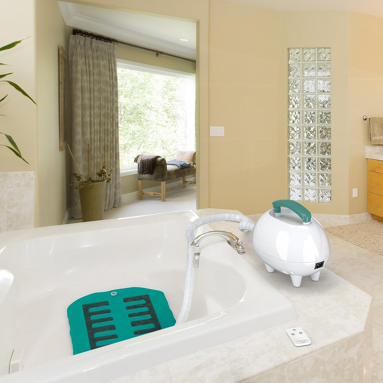 Amazon.com: Gideon Luxury Portable Spa Relaxing Air Bath Tub Mat ...