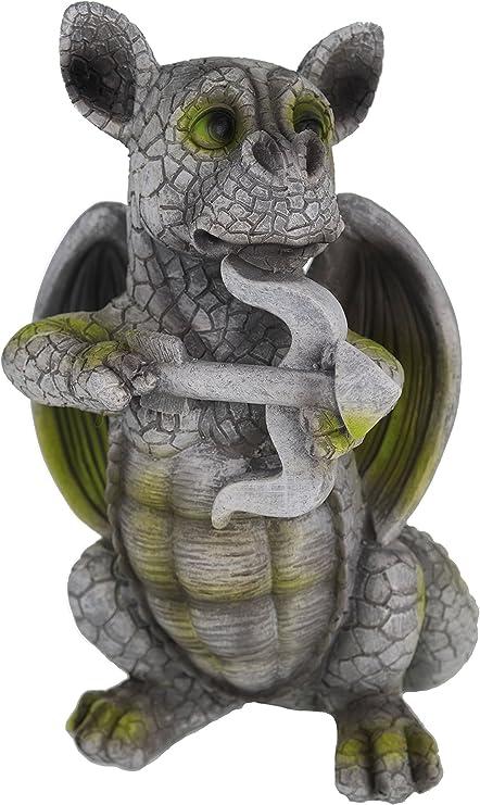 Dragon Armor Enfant avec flèche et archet Figurine Statue pour jardin Amour: Amazon.es: Jardín