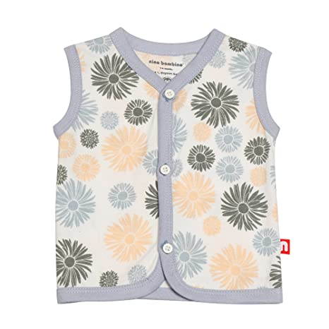 04a30b1e90d0 Buy Nino Bambino 100% Pure Organic Cotton V-Neck Button Down Closure ...