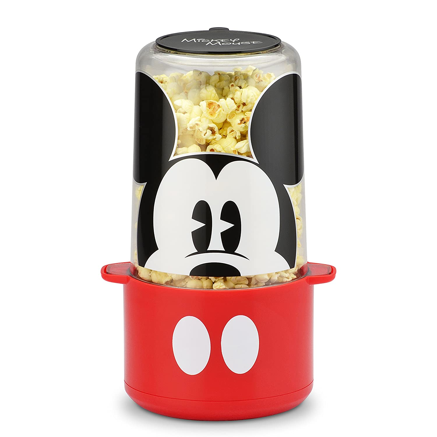 Disney DCM-60CN Mickey Mouse Popcorn Popper, Red
