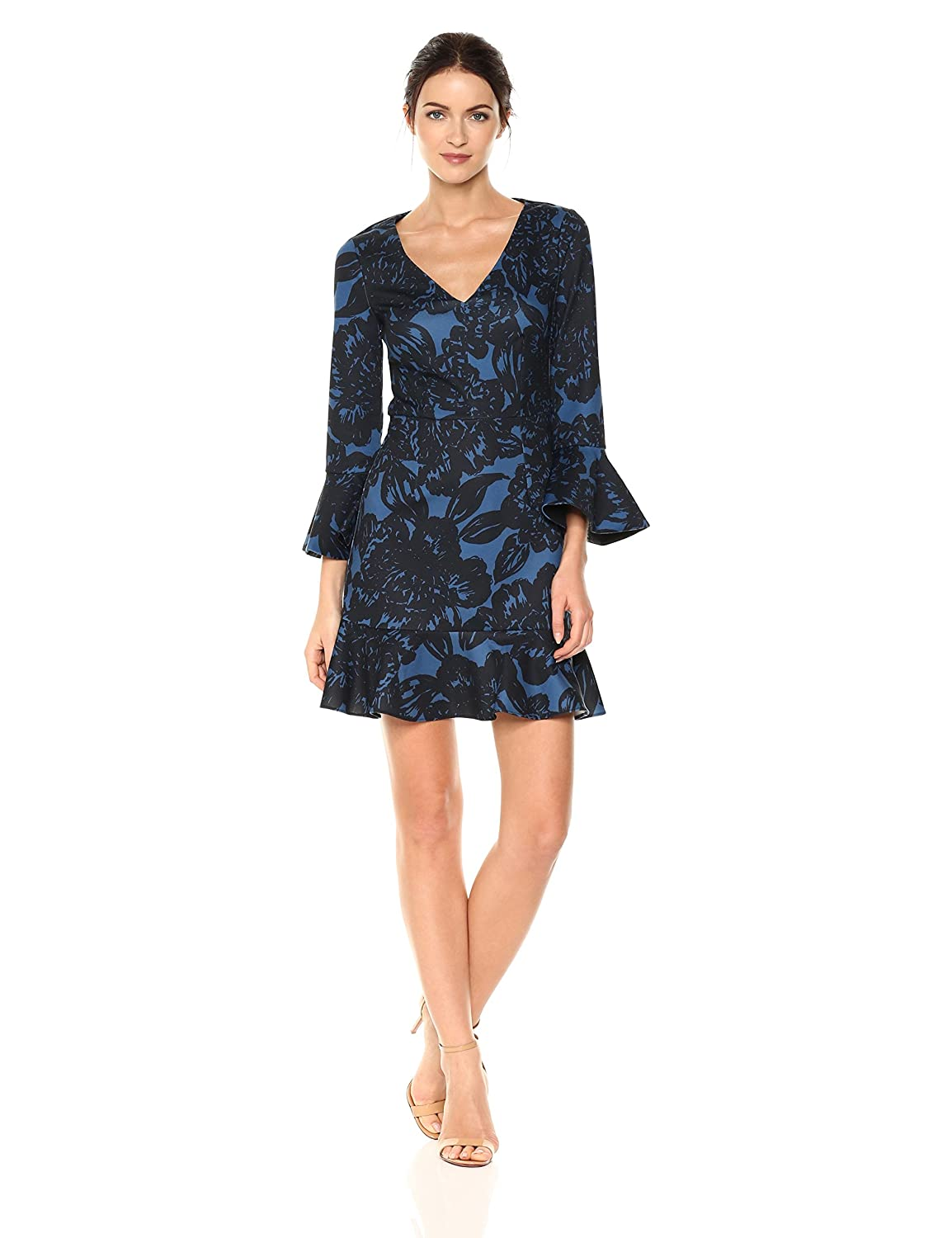 Midnight Trina Turk Womens Clearwater Dress Dress