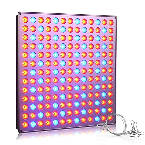 Roleadro LED Grow Light Bulb, 45w Plant Growing Lights Lamp Panel With  Redu0026Blue Spectrum For