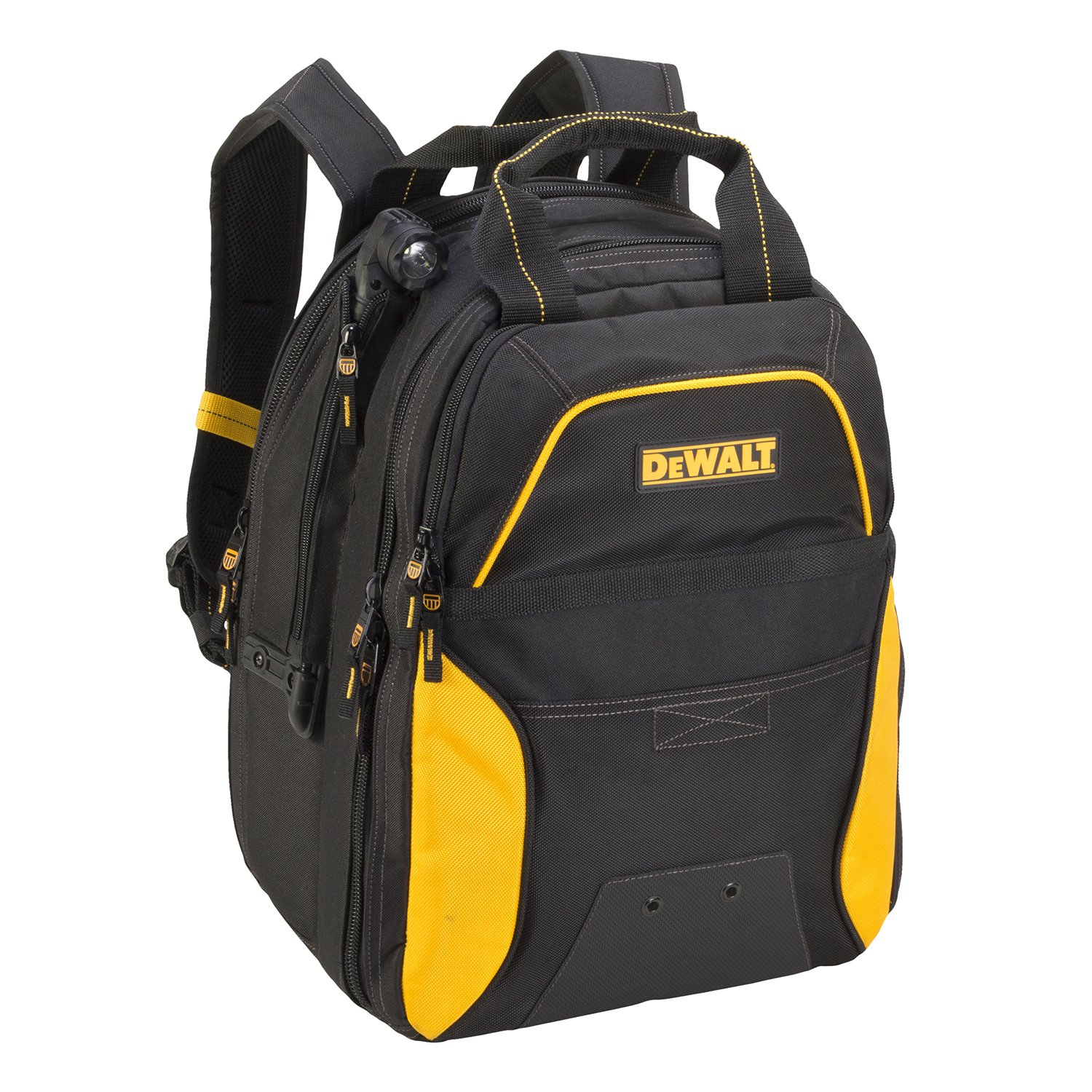 DEWALT DGCL33 33-Pocket Lighted USB Charging Tool Backpack by DEWALT