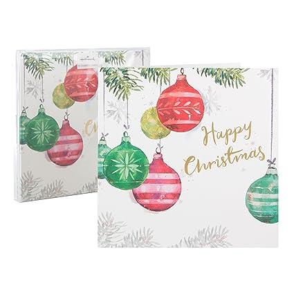 Hallmark - Tarjeta de felicitación de Navidad Pack de tarjetas de Navidad