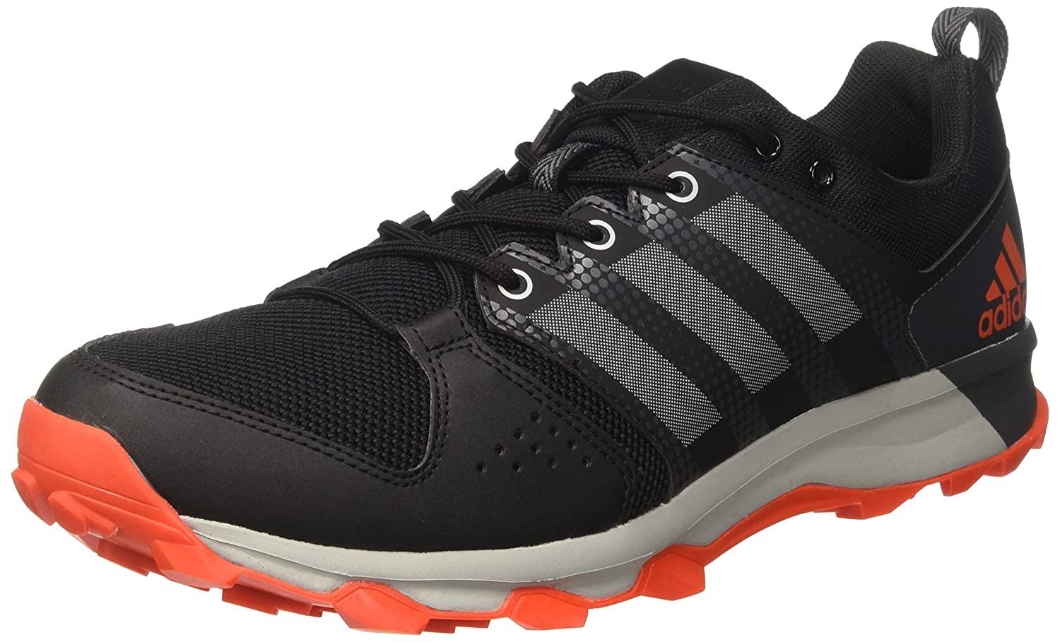 Adidas Galaxy Trail, Zapatillas de Running para Hombre 41 1/3 EU|Rojo (Core Black/Grey Two /Energy )