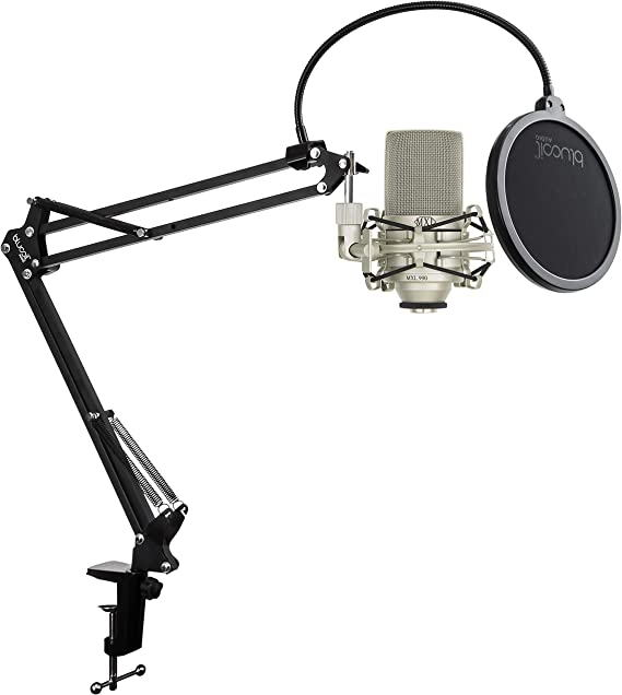 MXL 990 Condenser Microphone Bundle with MXL-90 Shockmount