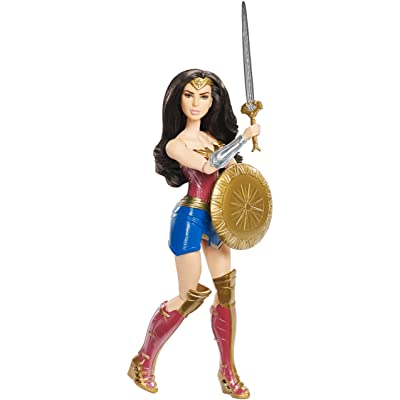 "Mattel DC Wonder Woman Shield Block Doll, 12"": Toys & Games"