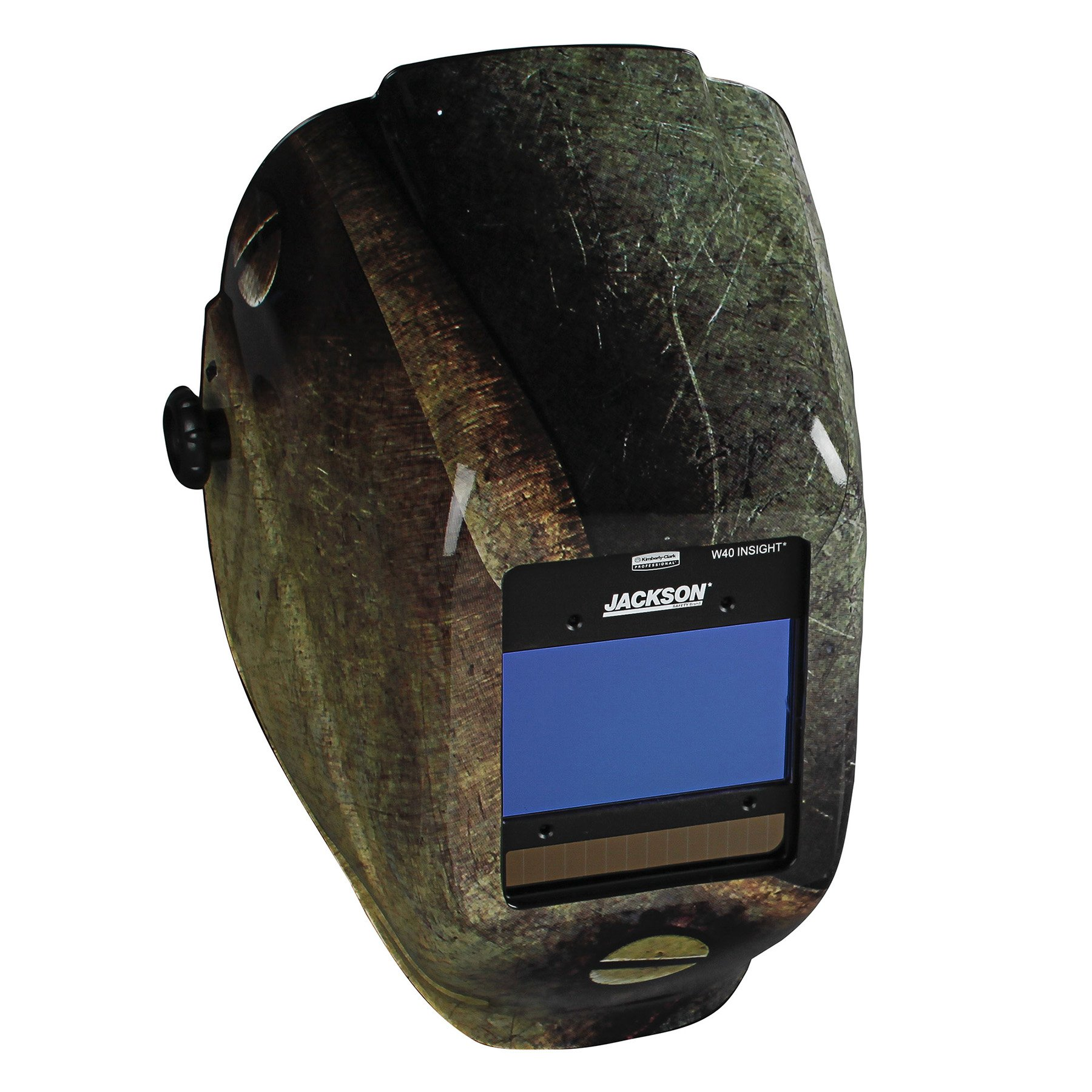 Jackson Safety Insight Variable Auto Darkening Welding Helmet (46108), HaloX , ADF, Metal Graphic
