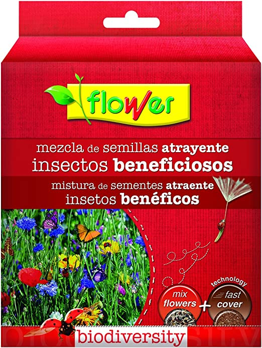 Flower 10797 10797-Mezcla para Flores atrayente Insectos ...