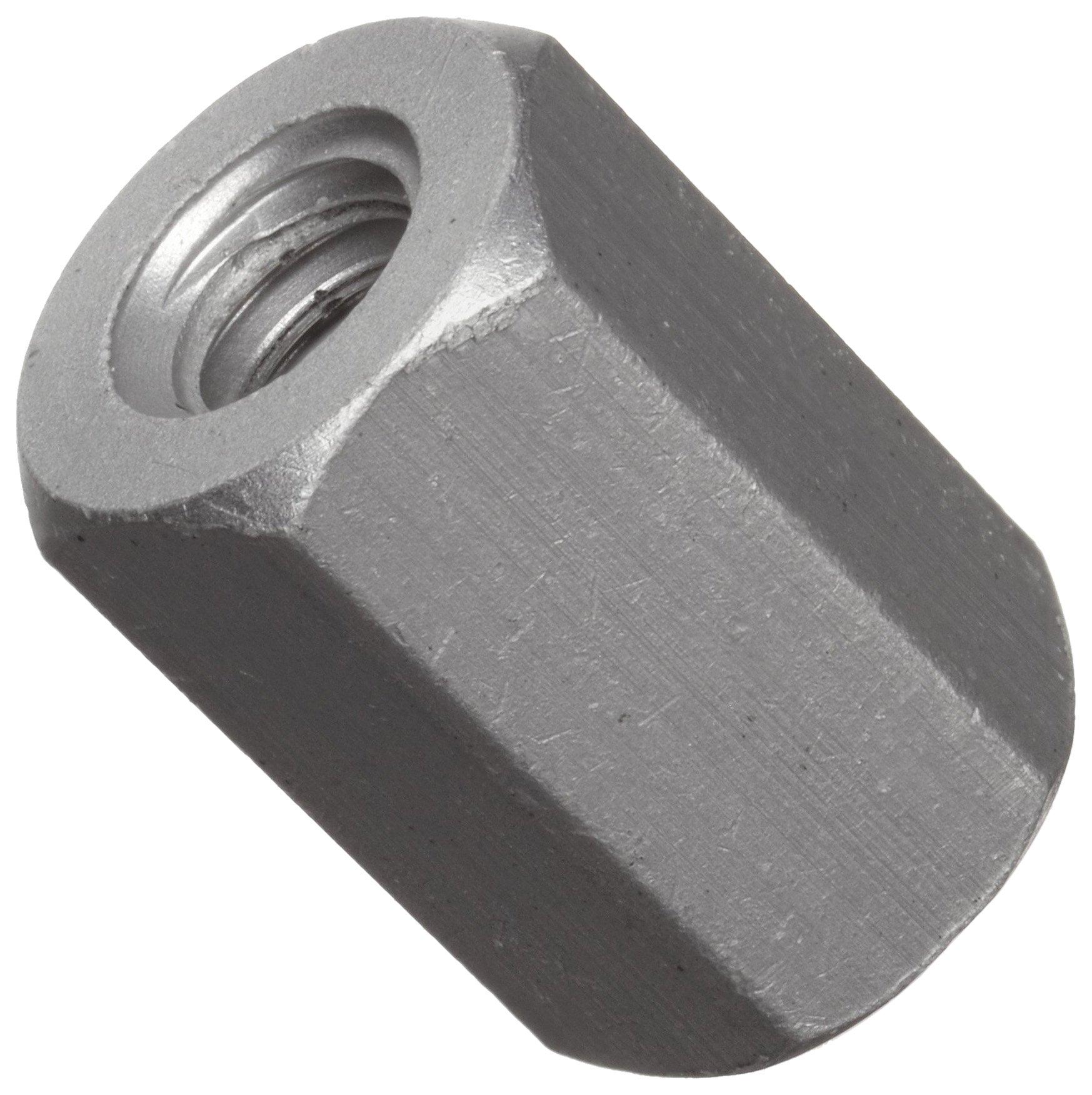 Hex Standoff, Aluminum, Plain Finish, Female, Right Hand, #6-32 Screw Size, 3/8'' Length (Pack of 25)