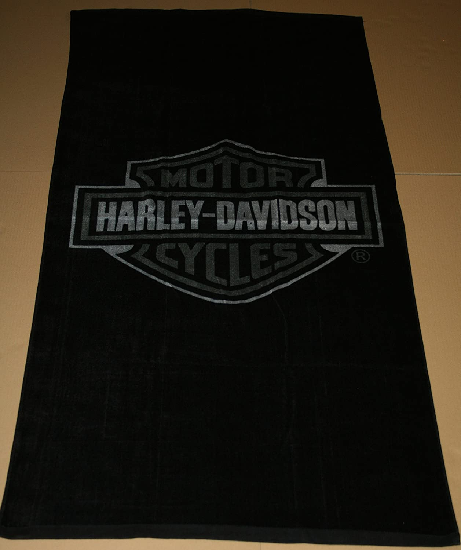 Serviette De Plage Harley Davidson.Harley Davidson Serviette Plage Serviette De Bain Serviette