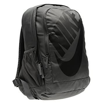 Nike Hayward Futura Backpack Grey Sports Bag Holdall Rucksack ... 3f330d7cfc0c3