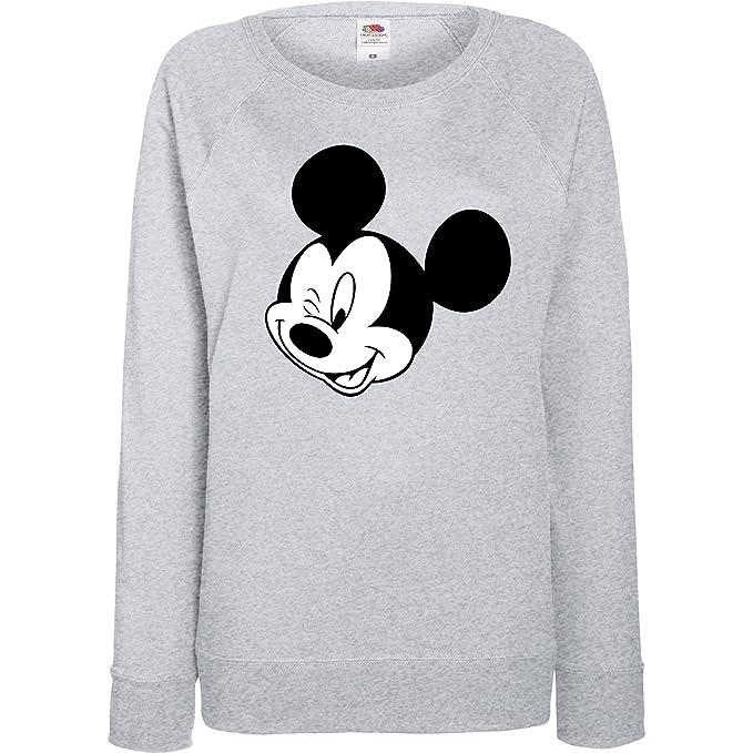 Damen Pullover XL Disney Aufdruck