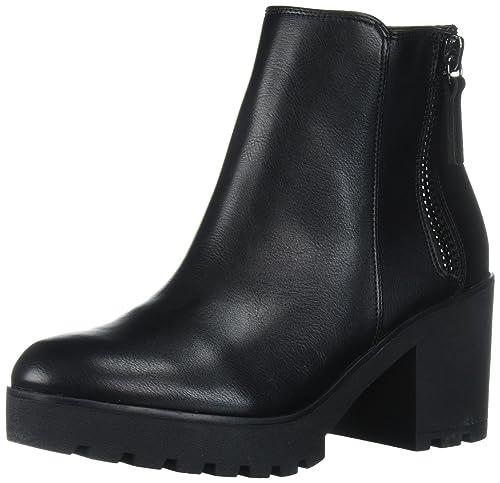 e51642d1997 Aldo Women's Koredia Ankle Bootie, Black Synthetic, 10 B US: Amazon ...