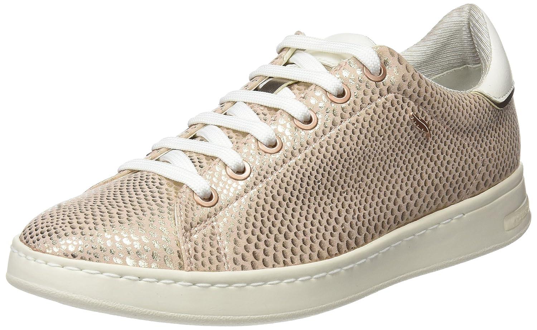 Geox D Jaysen a, Zapatillas para Mujer 36 EU|Beige (Rose Gold)
