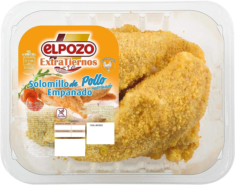 Elpozo Solomillo de Pollo Empanado Extratierno 415 g: Amazon ...