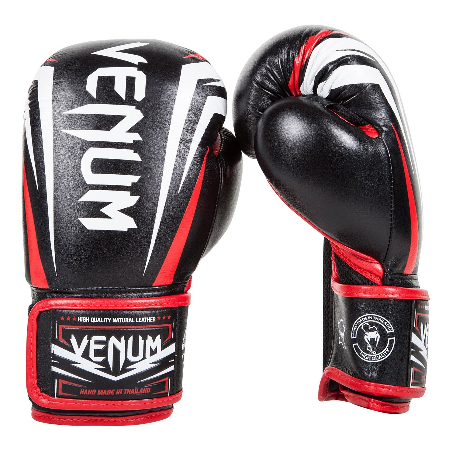 "Top Muay Thai Gloves Branches - Venum Nappa Leather ""Sharp"" Boxing Gloves"