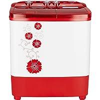 Panasonic 6.5 kg Semi-Automatic Top Loading Washing Machine (NA-W65B3RRB, Red)