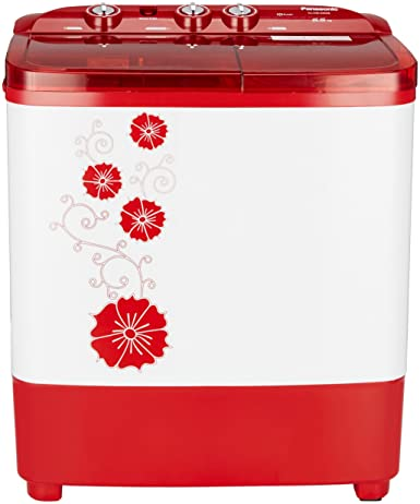 Onic 6 5 Kg Semi Automatic Top Loading Washing Machine Na W65b3rrb Red Amazon In Home Kitchen