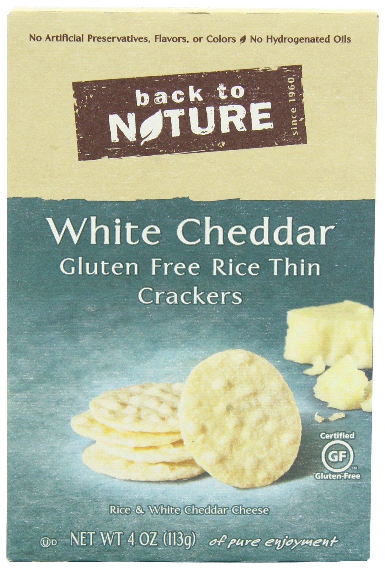 Amazon.com: Glutino Gluten Free Wholesome Crackers, Sea