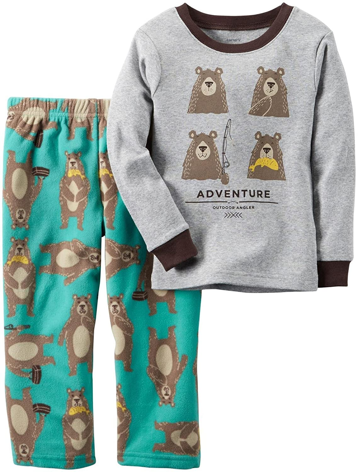 ビッグ割引 Carter's SLEEPWEAR ベビーボーイズ 12 Months 12 Adventure Carter's Bear SLEEPWEAR B01J4AQQ04, ベスト錦鯉:4cea3186 --- turtleskin-eu.access.secure-ssl-servers.info