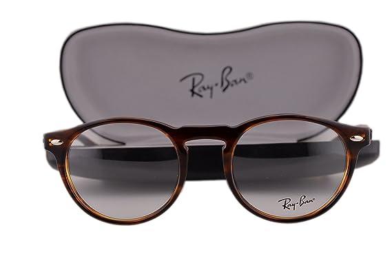 61229cbbe99 Ray Ban RX5283 Eyeglasses 47-21-145 Havana 2144 RB5283  Amazon.co.uk   Clothing