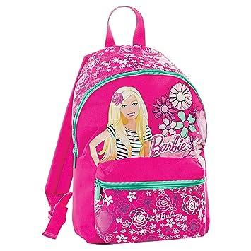 Pequeña mochila Barbie - - Color Rosa - 10 L Escuela Infantil: Amazon.es: Deportes y aire libre