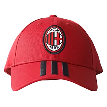 2017-2018 AC Milan Adidas 3S Cap (Red) 1083cf4f74