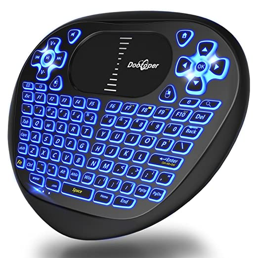 37 opinioni per Dootoper Wireless Mini tastiera con touchpad del mouse / 10 Meter Range / 76