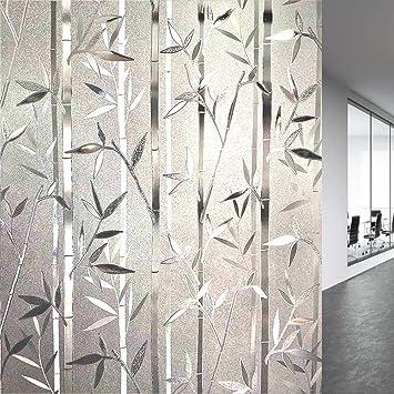 LEMON CLOUD 3D Folie Fenster Sichtschutz Folie Fenster Selbstklebend für  Badezimmer Dekoration und Schutz der Privatsphäre 90cmx200cm