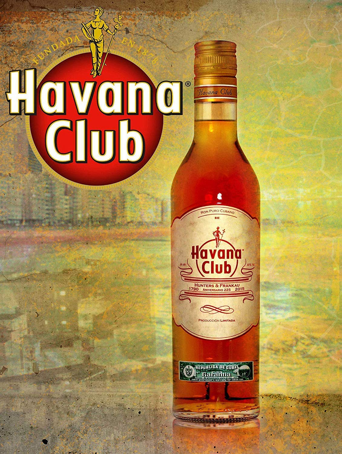 Wise Degree Havana ClubBar Cartel Club Pared Cocina Arte ...