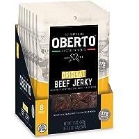 Oberto Specialty Meats Original Beef Jerky, 1.5 Ounce (Pack of 8)