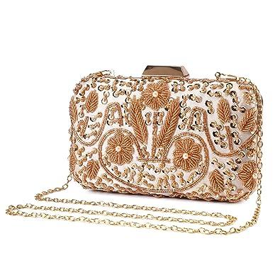 Amazon.com: UBORSE - Bolso de mano para mujer, diseño de ...