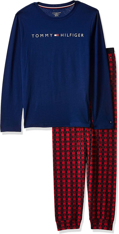 Tommy Hilfiger Boys Ls Set Logo Pyjama Bottoms