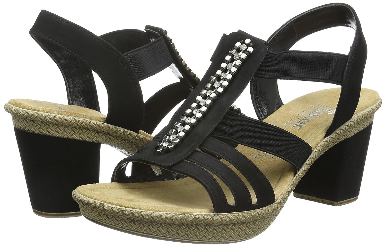 Rieker Women's, 66584 High Heel Sandal
