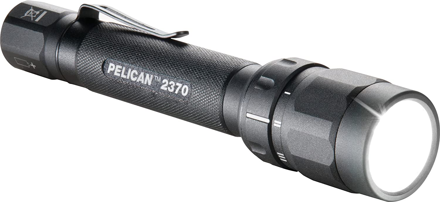 Pelican 2370 Tactical Flashlight Black