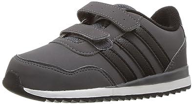 best sneakers 6ba29 d30b0 adidas NEO Boys  V Jog Cmf Inf Sneaker, Grey Five Black Semi