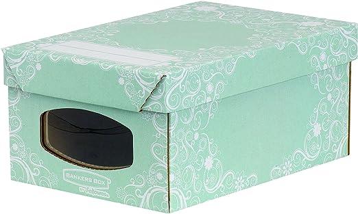 Bankers Box Cajas de Cartón Multiuso para almacenaje y ...