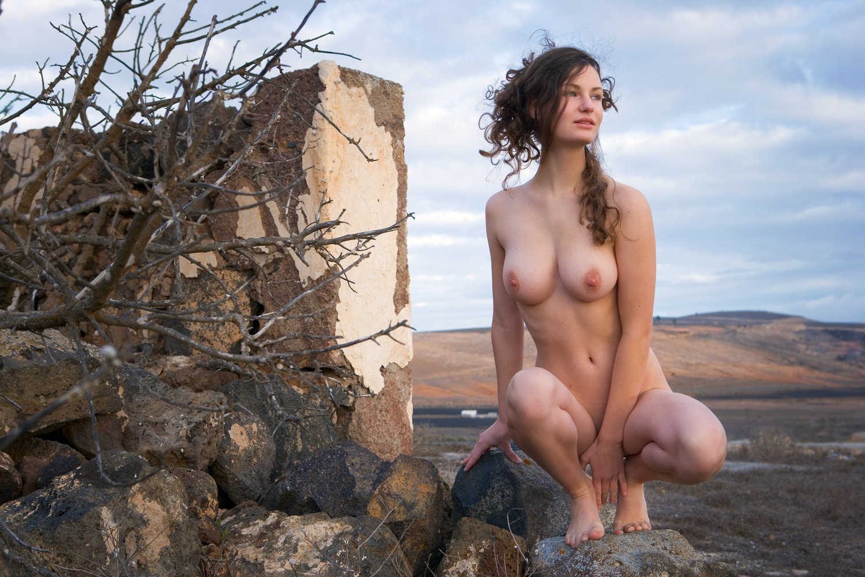 Tattoos of nude male