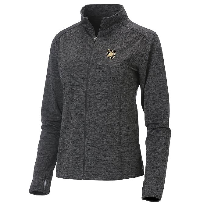 Ouray Sportswear Women's Swerve Full Zip Jacket, Small, Charcoal