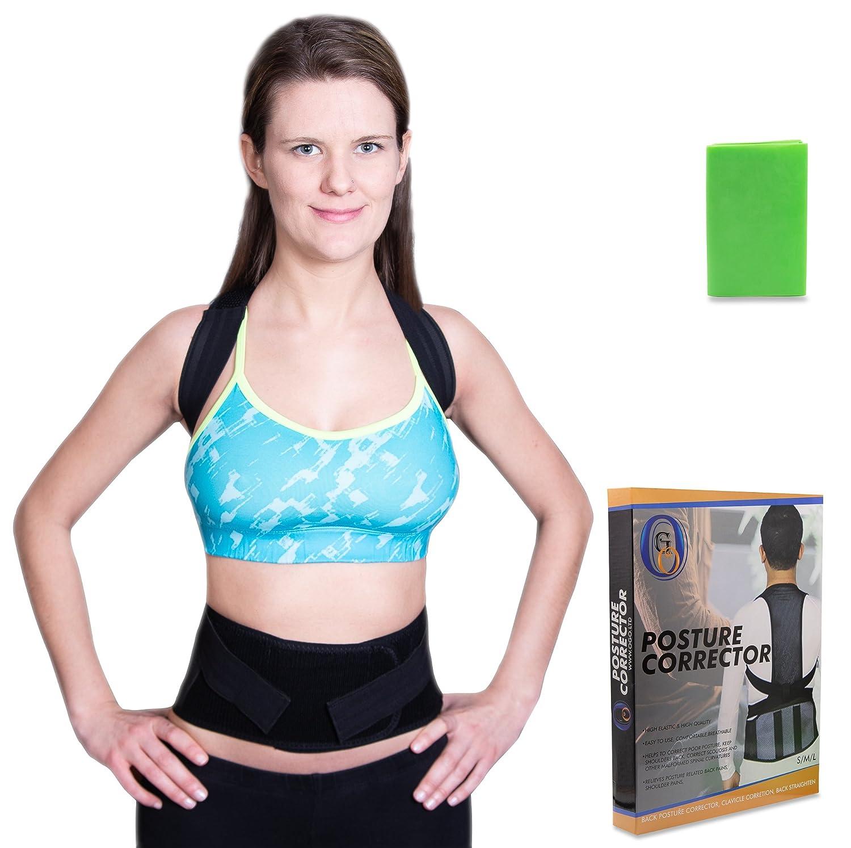 Ogo Posture Corrector Brace For Men And Women Support Shoulder Elastis Lower Back Neck Shoulders Wear Comfortably Under Shirt To Relieve