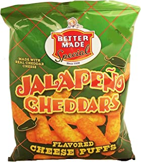 product image for Better Made jalapeno cheddars flavored cheese puffs, 2.375-oz. bag