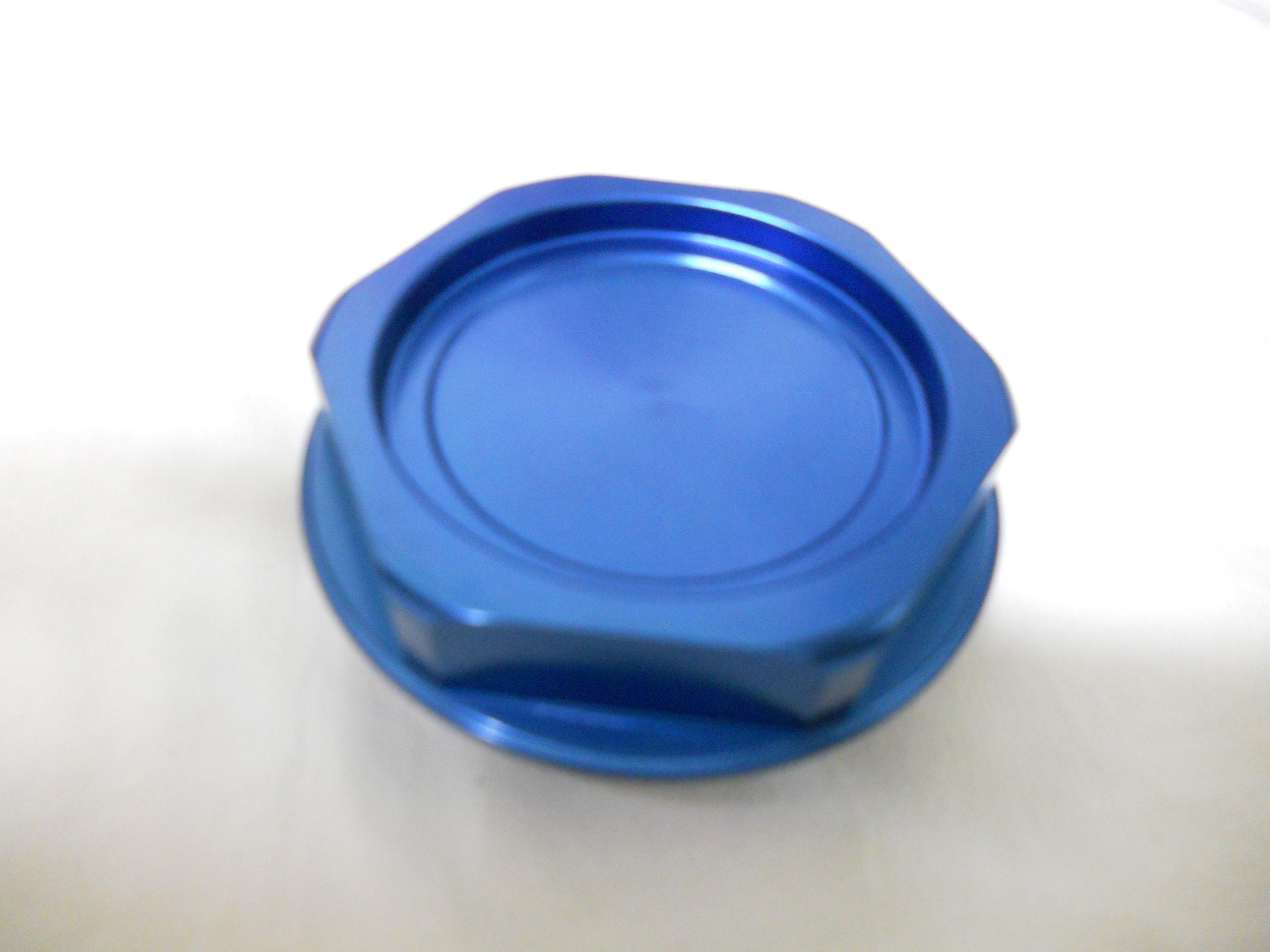 Racing Toyota Aluminum Oil Cap New (Blue)