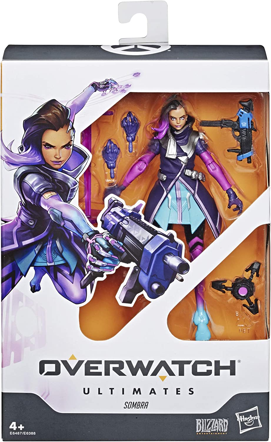Overwatch- Ultimates Sombra (Hasbro E6487ES0): Amazon.es: Juguetes ...